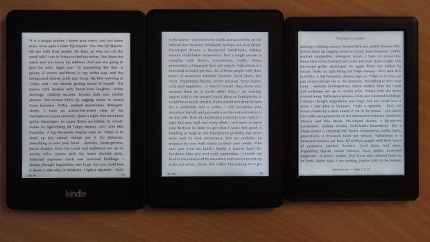 Kindle Paperwhite 2015 comparison