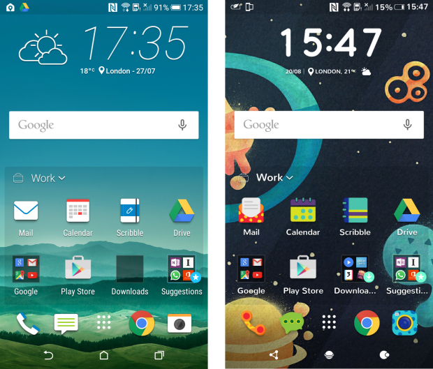 HTC Desire 626 Sense 7 interface