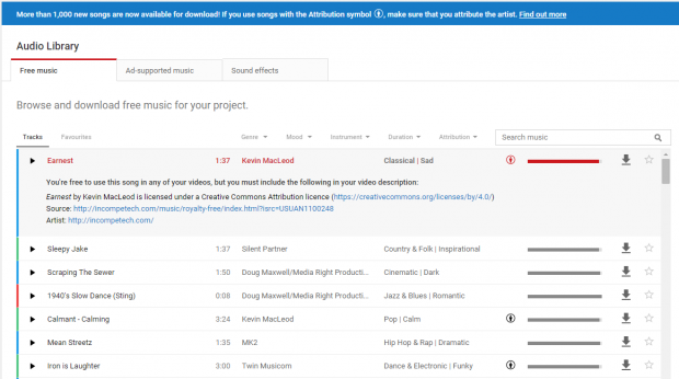 how to avoid copyright music on youtube