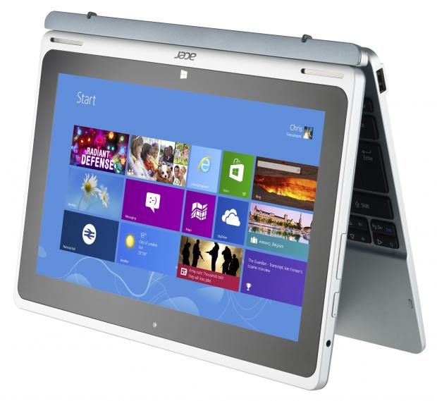 Acer Aspire Switch 10 tablet mode