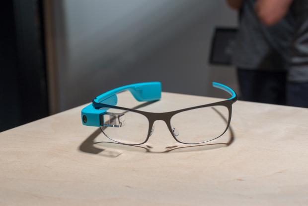 Google Glass prescription straight on