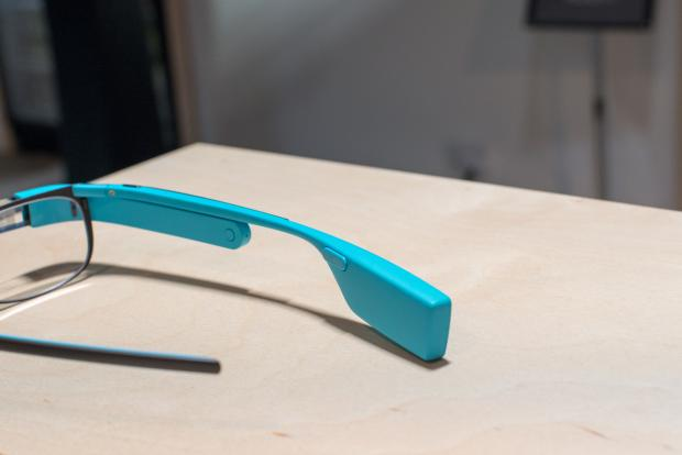 Google Glass touchpad