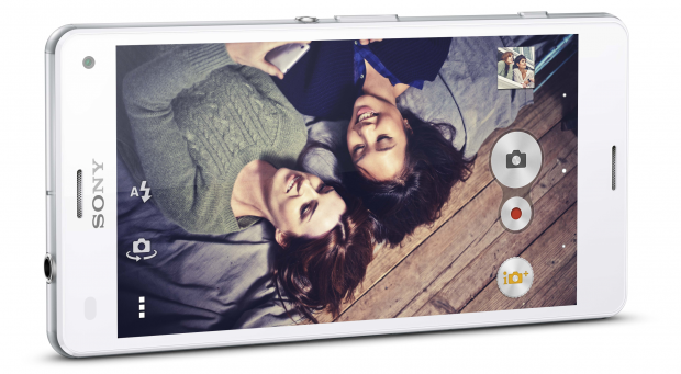 Sony Xperia Z3 Compact side on