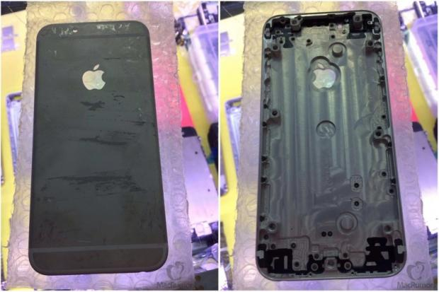 iPhone 6 leaked rear shell - the new Space Gray