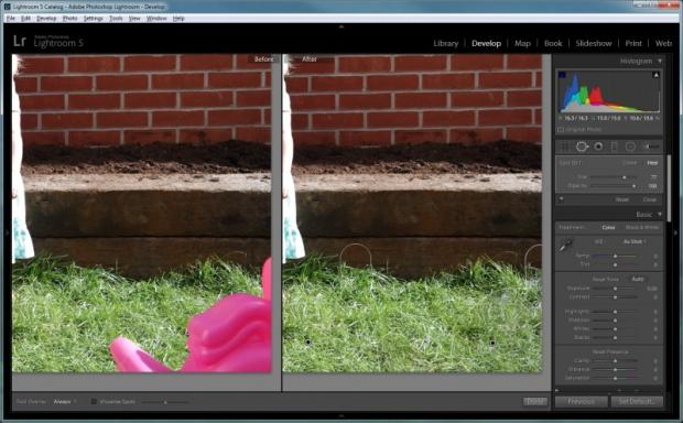 Lightroom 5 - Advanced Healing Brush