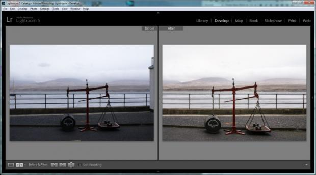 Lightroom 5 - Upright Tool