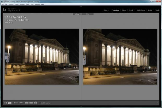Lightroom 5 - Upright Tool 2