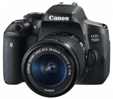 Canon EOS 750D main