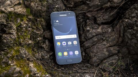 Samsung galaxy S7 display