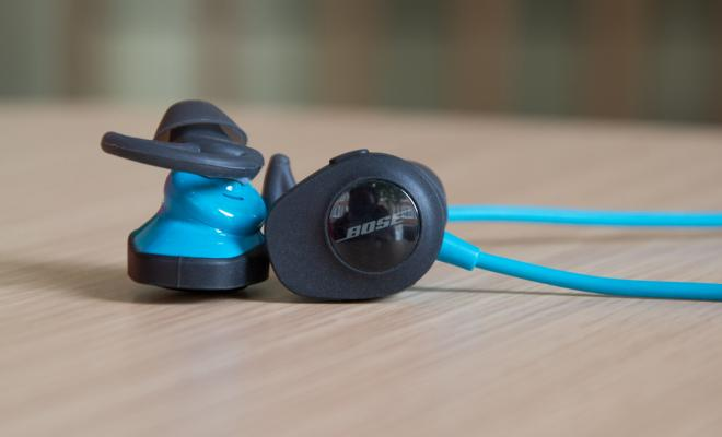 The Bose SoundSport Wireless are quite bulky but feel reasonably light