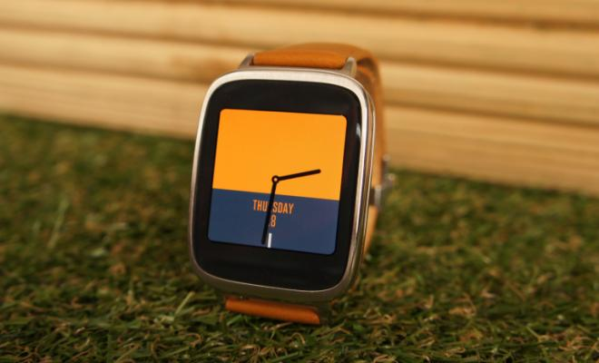 Asus Zenwatch - AMOLED display