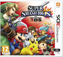 Super Smash Bros 3DS box art