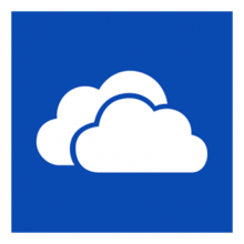 The logo for Microsoft OneDrive