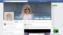 Taylor Swift on Facebook