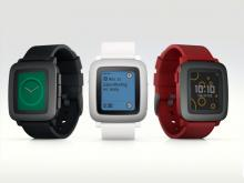 Pebble Time press image