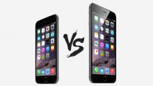 iPhone 6 vs iPhone 6 Plus header