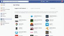Facebook app permissions