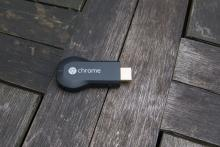 Google Chromecast top down view