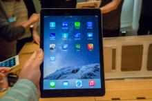 iPad Air 2 at launch event