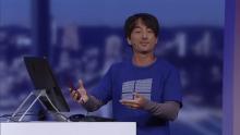 Windows 10 phone continuum demo