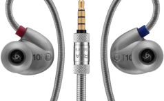 RHA T10i headphones and jack