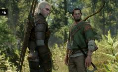 The Witcher 3 - in the woods