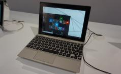 Toshiba Satellite Click 10 hands on laptop