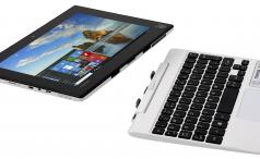 Toshiba Satellite Click Mini split