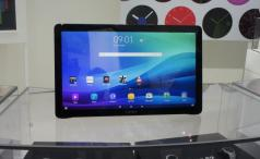 Samsung Galaxy View front shot