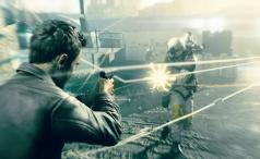 Quantum Break -gunplay