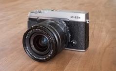 Fujifilm X-E2S front