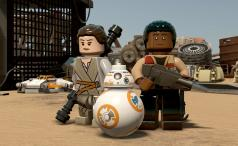 Lego Star Wars: The Force Awakens, Finn, Rey and BB8