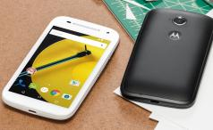 Moto E 2015 press shot