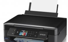 Epson XP-422, front right view