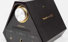 Creative Sound Blaster X7 front angle