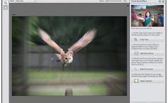 Adobe Photoshop Elements 12 - ZoomBlur