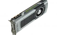 GTX 780 Ti three-quarters upright