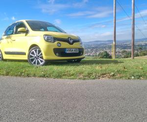 Renault Twingo 2014 viewed from the front
