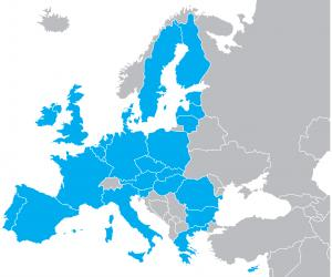 Map the EU (shutterstock)