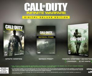 Call of Duty: Infinite Warfare deluxe edition