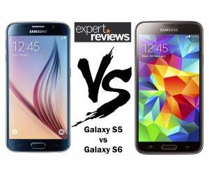 Galaxy S6 vs Galaxy S5 teaser