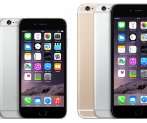 iPhone 6 vs iPhone 6 Plus side by side