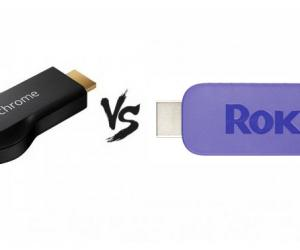 Chromecast vs Roku Streaming Stick