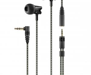 Sennheiser IE 800 earphones cable close-up