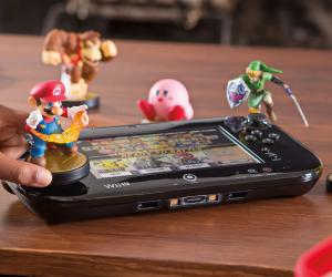 Nintendo Wii U GamePad and amiibos