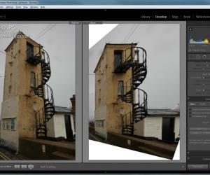 Lightroom 5 - Upright Tool 3